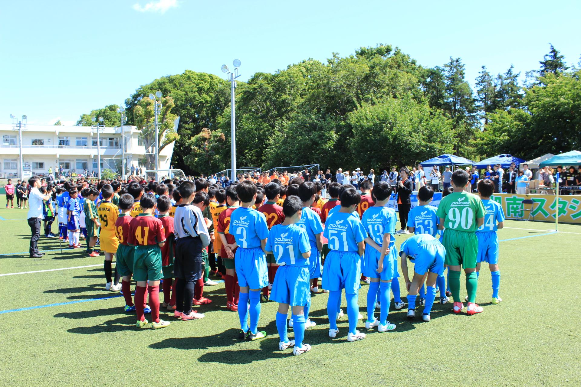 第5回JCカップU-11少年少女サッカー全国大会予選大会を開催しました。
